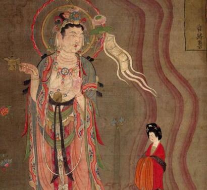 流失海外国宝:大英博物馆藏敦煌壁画