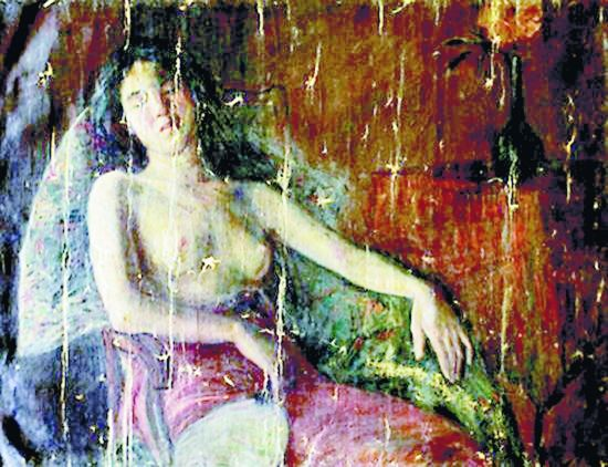 """消失半个世纪重见天日,李叔同名画《半裸女像》的""""失踪""""之谜如何层层破解"""