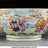 出口粉彩瓷器碗
