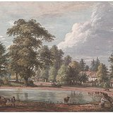 英国水彩画之父保罗桑德比 供欣赏 不售