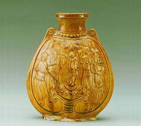 【国宝品鉴】黄釉扁壶