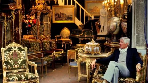 伦敦Spitalfields古董市场 男人的购物天堂