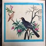 19世纪清代通草画-花鸟1