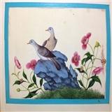 19世纪清代通草画-花鸟5