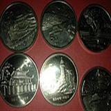 台湾名胜古迹纪念币与祖国珍惜野生动物纪念币