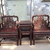 黑酸枝太师椅三件套特价