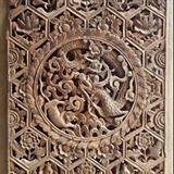 漂亮清代中期木雕,单片62厘米45厘米
