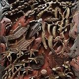 漂亮清代木雕有小修补 尺寸45 38厘米
