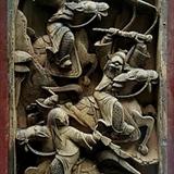 漂亮清代湖南木雕 单片尺寸33 22厘米