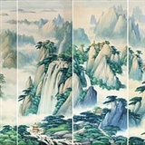 孙文林水彩组画35  215 106cm  215 6幅