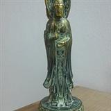 宣德年制的铜制品:三面观音