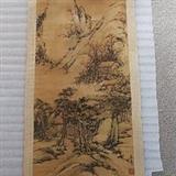 古代山水古画